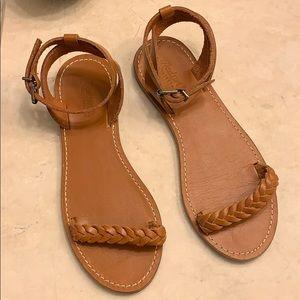 Madewell sightseer sandals